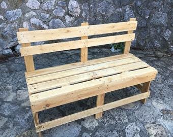 Decorative Pallet Style Bench