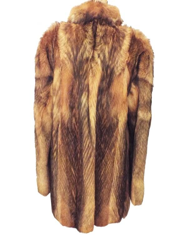 Jacket fur fox