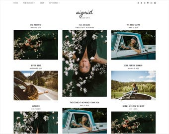 Sigrid | Responsive Blogger Template + Free Installation