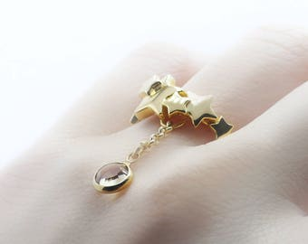 Star Gold Ring