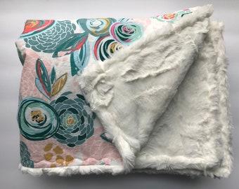 Minky Blanket Etsy