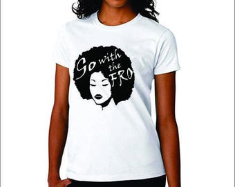 Afrocentric clothing, African hair accessories, natural hair t shirt, black girl magic, natural hair tshirt, gifts for black moms, african