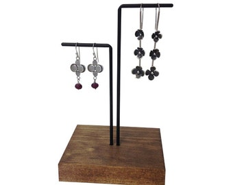 Earring display, earring stand, craft show display, store display