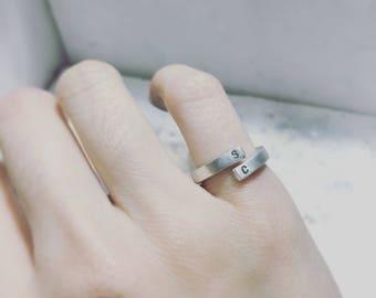Simple initial ring