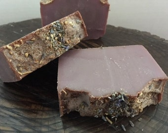 Black Amber and Lavender Cold Process Soap