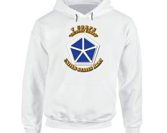Army - V Corps - Victory Corps Hoodie
