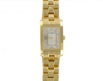 Lady Baume Mercier Hampton Watch Gold