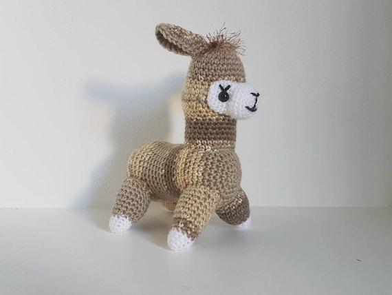 Häkeln Alpaka häkeln Tierspielzeug Alpaka Lama