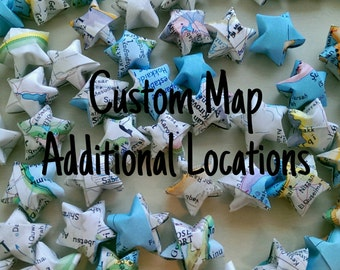 CUSTOM Map Origami Star Add-ons
