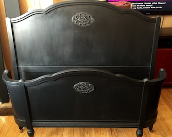 SOLD to Robin- Vintage 1920's Full/Queen Bed