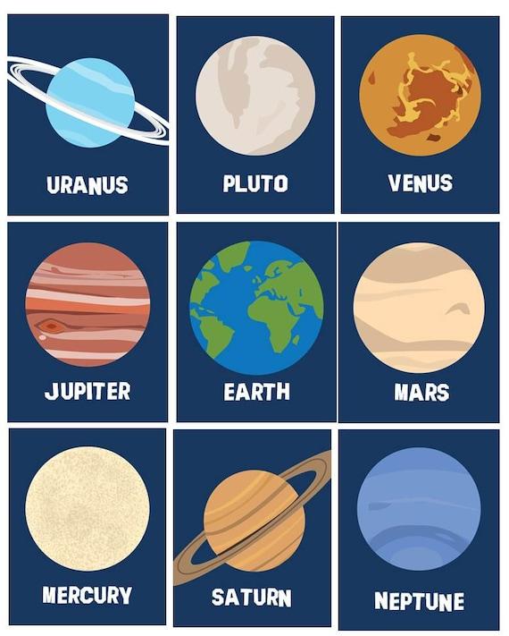 Solar System Planets Wall Decor Art Prints