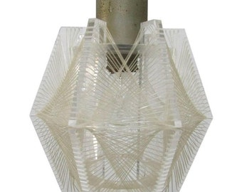 """Paul Secon for Sompex - Pendant lamp """"Swag"""""""