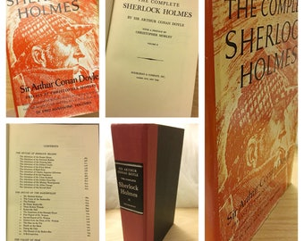 Vintage Sherlock Holmes Book, Sherlock Holmes Books, Detective Books, Mystery books