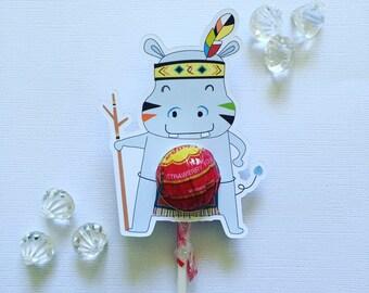 Hippo lollipop holders