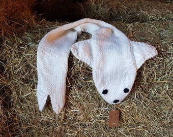 Seal Pup Child's Scarf
