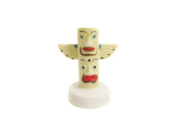 Vintage Totem Pole Toothpick Holder