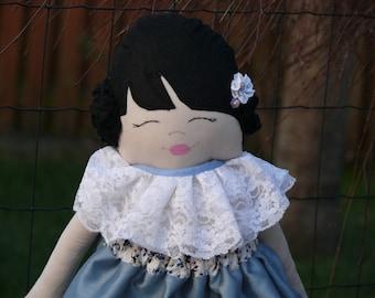 Mira cloth doll,fabric doll