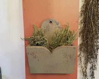 Primitive Wall Box
