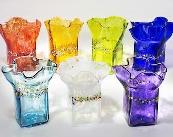 Ruffled Glass