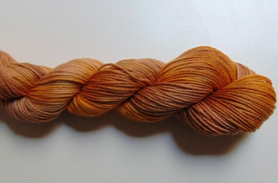 Chai Tea- 100 Cotton Yarn, Hand Dyed, Sport Weight Variegated