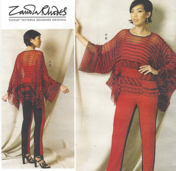 Fancy Sew Direct Vogue Patterns Embellishment - Easy Scarf Knitting ...