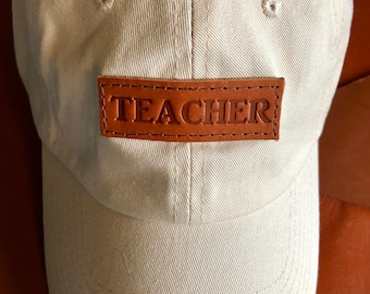Personalized Teacher Baseball Cap