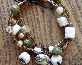 Natures Eclectic Mix Stretch Bracelet