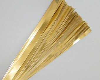 Gold Foil : Lucky Stars Paper Strips (100)