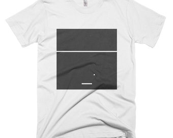 Atari Minimal T Shirt, Breakout, Pong, Arkinoid, Video Game Shirt, Computer Game Shirt, Retro Apparel, Vintage Tee, Breakout Shirt, Atari