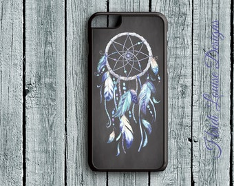 DreamCatcher-Boho-Feathers-Vintage - iPhone 6s, iPhone 6s Plus, iPhone 7s, iPhone 7s Plus, Samsung S6 Phone Case