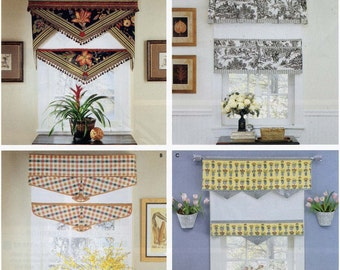 Simplicity 5342 Window Treatments Valance & Shade Sewing Pattern