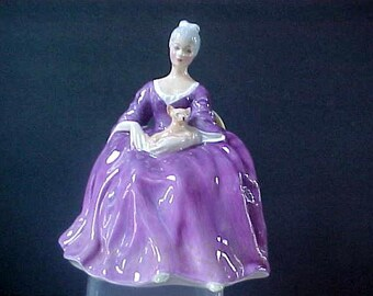 """Royal Doulton Charlotte  HN 2421   6-1/2"""" tall   Mint Condition, no chips, scratches, repairs or crazing."""