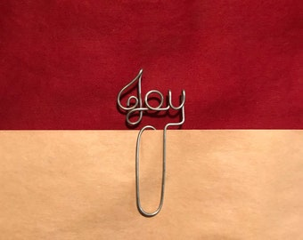 JOY Wire Bookmark Paperclip