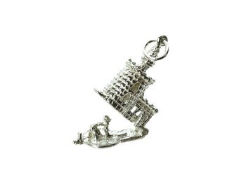 Sterling Silver Opening Tower Of London Charm For Bracelets