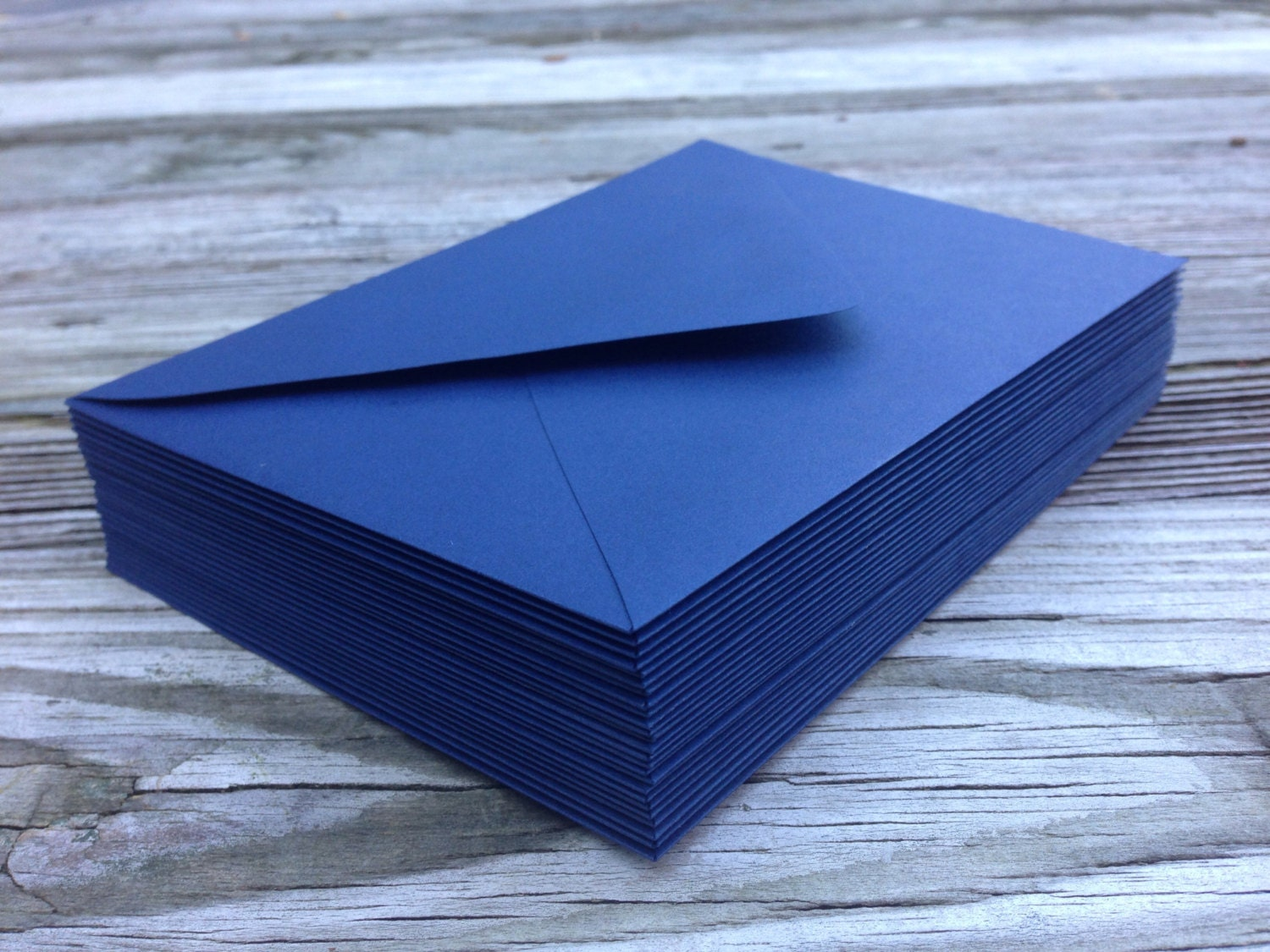 50 navy blue a7 5x7 invitation or a1 4bar rsvp pointed flap 50 navy blue a7 5x7 invitation or a1 4bar rsvp pointed flap envelopes night navy blue paper source stopboris Image collections