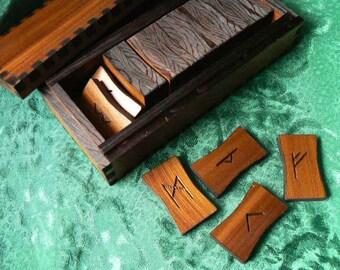 Plain and Simple Elder Futhark Boxed Rune Set