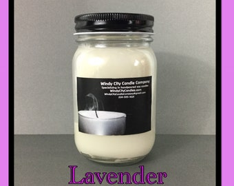 Handpoured Lavender soy candle