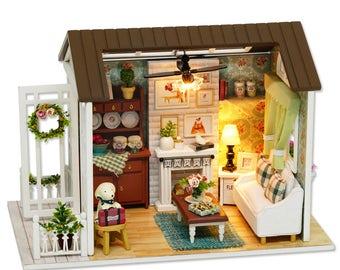 Happy Times - DIY Miniature Dollhouse Kit