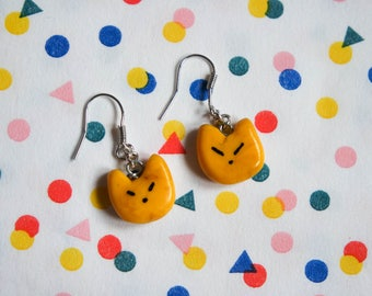 Small yellow cat Earrings