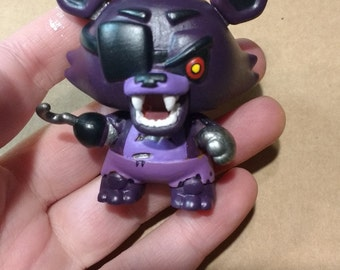 Custom Shadow/Nightmare Five Nights at Freddy's Foxy Mini Mystery Figure Funko