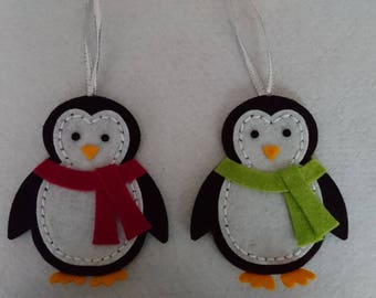 Christmas Tree Decorations - Penguins