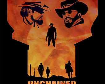 Django Unchained Alternative Movie Poster 11X16