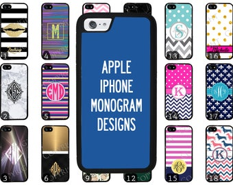 Choose from 70 Monogram / Personalized Designs iPhone 8 iPhone 8 Plus iPhone X iPhone 7 Plus iPhone 6 iPhone 5 iPhone 4 iPod Phone Case