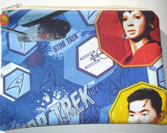 SALE Star Trek Zipper Pouch - Comic Books, Geekery.