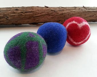 Set of 3 dryer balls
