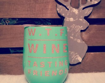 Personalized wine or coffee tumbler