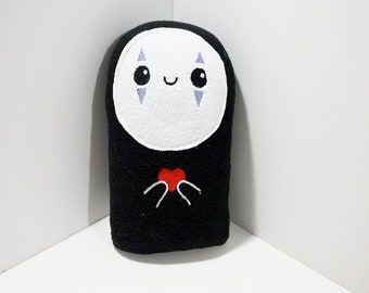 Spirited Away Plush - No Face Plush - Studio Ghibli Plush (Unofficial)