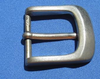 Vintage Metal Buckle Silver Colored