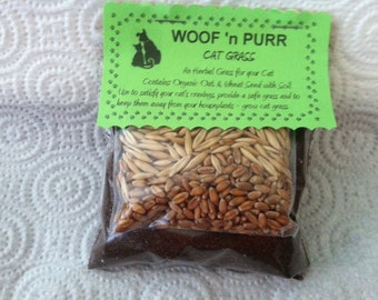 Cat Grass Grow Kits for Cats to Eat