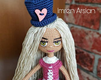 Ooak amigurumi crochet Doll by Imren Arslan
